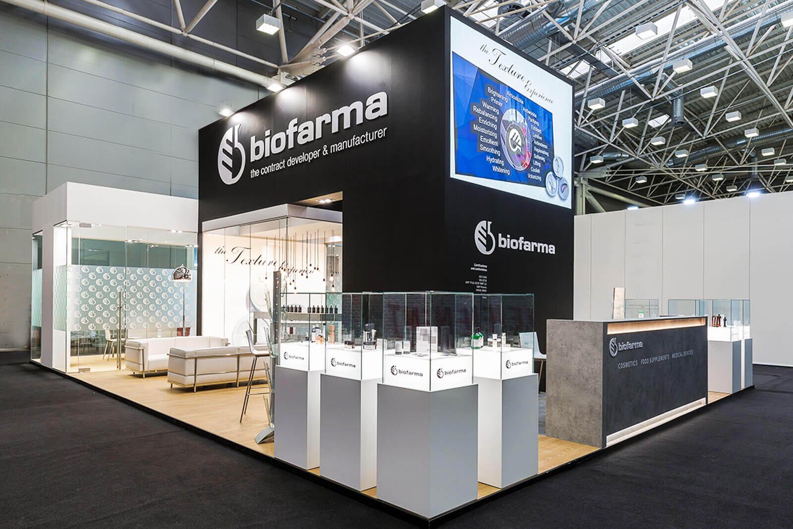 Cosmopack Bologna - Biofarma - Dass stand fieristici