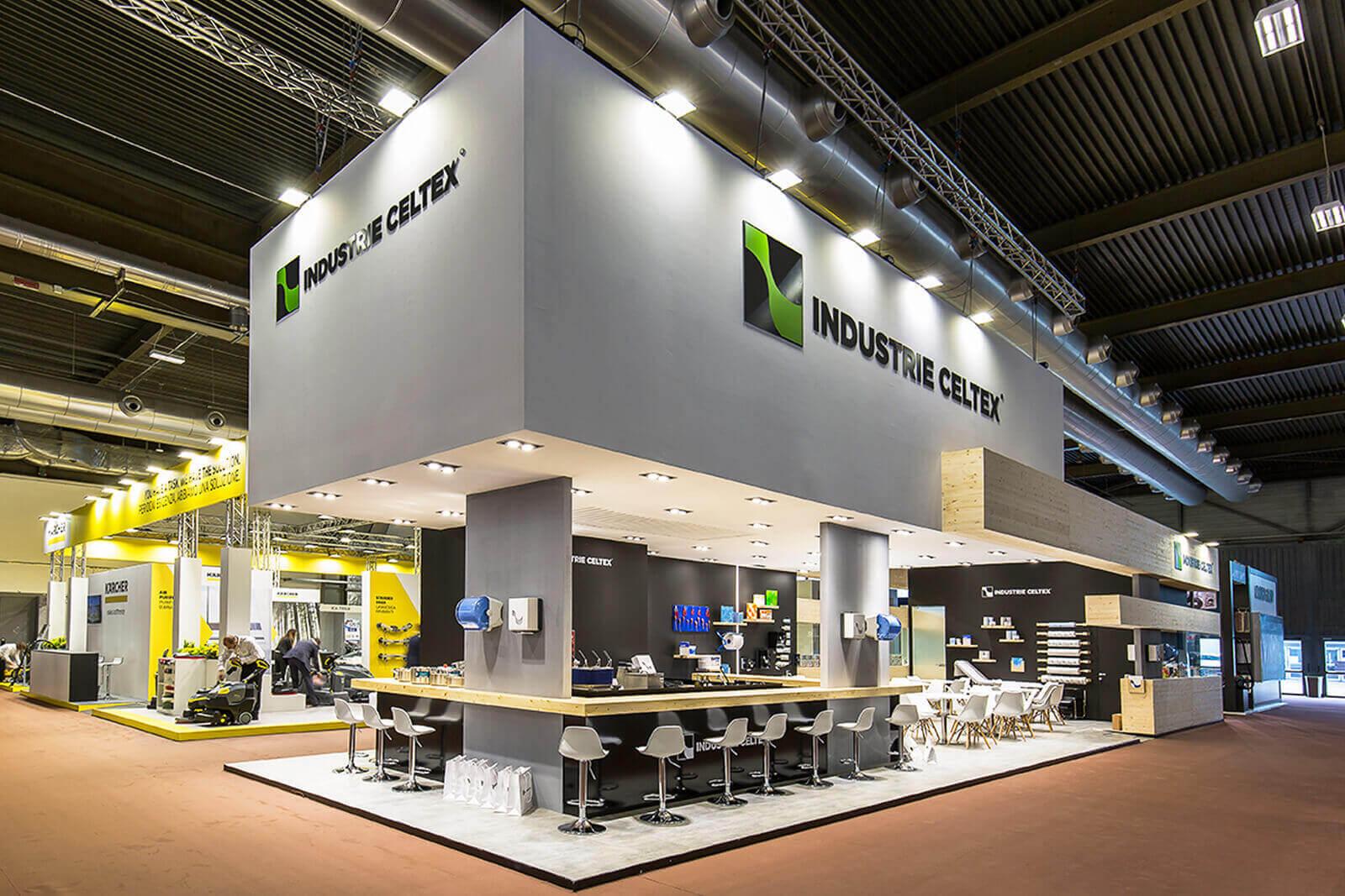 Industrie Celtex - Pulire Verona - Dass allestimenti fieristici