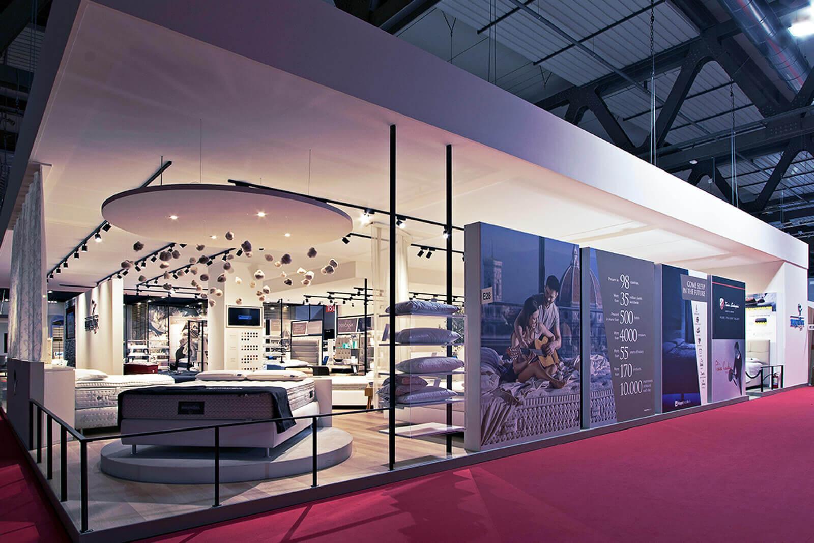 Salone del Mobile Milano - Magniflex - Dass allestimenti fieristici